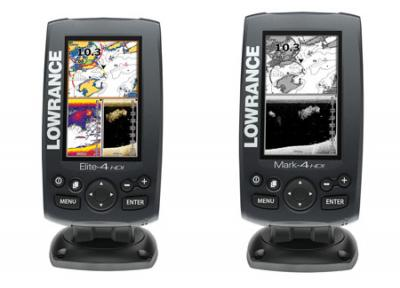 LOWRANCE presenta las series ELITE-4 y MARK-4 HDI