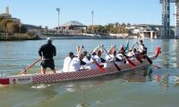 El Club Piragüismo Triana, estandarte nacional en el Europeo de dragon boat