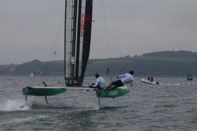 Little America´s Cup: Groupama imparable en Falmouth