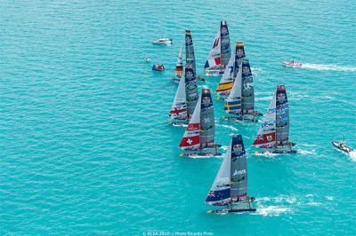 Spanish Impulse by IBEROSTAR, finaliza sexto en la Red Bull Youth America's Cup