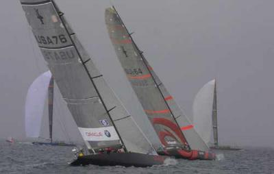Alinghi pone un pie en la final de la Copa Louis Vuitton