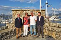La presidenta de la Royal Yacht Association estrecha lazos con el Monte Real Club de Yates