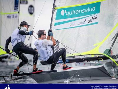 Botín y López-Marra disputarán la regata final de la World Cup de Enoshima